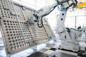Reconfigurable Factory Demonstrator at the AMRC Factory 2050 facility