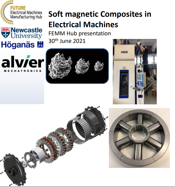 Hub Training Course: Soft Magnetic Composites for Electrical Machines